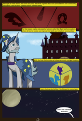 Size: 4750x7000 | Tagged: absurd res, adventure, artist:chedx, comic, comic:mlp old tales, fanfic, fanfic art, fantasy, oc, pony, safe, star swirl the bearded