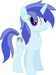 Size: 3665x4891   Tagged: safe, artist:cyanlightning, oc, oc only, oc:rhodie keypone, pony, unicorn, 2019 community collab, derpibooru community collaboration, .svg available, absurd resolution, chest fluff, ear fluff, female, mare, simple background, solo, transparent background, vector