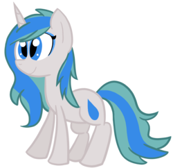 Size: 962x933 | Tagged: 2019 community collab, artist:technoponywardrobe, blue eyes, cute, derpibooru community collaboration, derpibooru exclusive, eyeshadow, female, makeup, mare, medibang paint, oc, oc:charity seashell, oc only, pony, safe, simple background, solo, transparent background, unicorn, water droplet