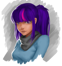 Size: 886x936 | Tagged: safe, artist:amarthgul, sci-twi, twilight sparkle, human, clothes, female, humanized, no glasses, simple background, sketch, smiling, solo, transparent background