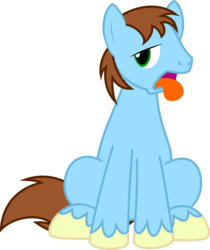 Size: 1258x1500 | Tagged: 2019 community collab, artist:jp, derpibooru community collaboration, derpibooru exclusive, male, oc, oc only, pony, safe, simple background, solo, stallion, svg, .svg available, tongue out, transparent background, vector