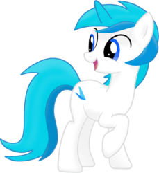 Size: 922x1005 | Tagged: 2019 community collab, artist:lywings, derpibooru community collaboration, oc, oc:lywings, pony, raised hoof, safe, simple background, smiling, solo, transparent background
