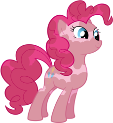 Size: 4847x5296 | Tagged: absurd res, .ai available, artist:redpandapony, dirty, pinkie pie, pony, safe, simple background, solo, transparent background, vector