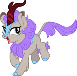 Size: 5714x5641 | Tagged: safe, artist:redfire-pony, oc, oc only, oc:dark dust, kirin, absurd resolution, base used, cloven hooves, colored hooves, female, kirin oc, open mouth, simple background, solo, transparent background