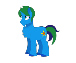Size: 2500x2075 | Tagged: 2019 community collab, artist:sleepycosmonaut, chest fluff, derpibooru community collaboration, male, oc, oc:arcane gear, oc only, pony, safe, simple background, solo, transparent background, unicorn