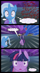 Size: 1280x2300 | Tagged: artist:bigsnusnu, comic, comic:dusk shine in pursuit of happiness, dusk shine, female, lesbian, male, mare, pony, rule 63, safe, shipping, stallion, straight, trixie, trixshine, twilight sparkle, twixie, unicorn, unicorn twilight, ursa minor