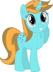 Size: 3948x5327 | Tagged: 2019 community collab, absurd res, artist:cyanlightning, chest fluff, derpibooru community collaboration, ear fluff, female, mare, oc, oc only, oc:sollace, open mouth, pony, safe, simple background, solo, .svg available, transparent background, unicorn, vector