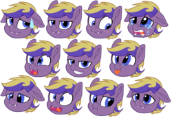 Size: 970x668   Tagged: safe, artist:breioom, oc, oc only, oc:tozuma, bat pony, pony, :p, bat pony oc, blushing, bored, crying, cute, cute little fangs, digital art, disappointed, emotes, fangs, floppy ears, grin, male, nervous, sad, scrunchy face, silly, simple background, smiling, solo, stallion, starry eyes, surprised, sweat, sweatdrop, tired, tongue out, transparent background, wingding eyes, ych result