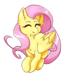 Size: 1494x1748 | Tagged: safe, artist:neekophobia, fluttershy, pegasus, pony, female, mare, simple background, solo, transparent background