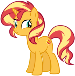 Size: 5359x5418 | Tagged: safe, artist:andoanimalia, sunset shimmer, pony, unicorn, equestria girls series, forgotten friendship, absurd resolution, cute, faic, female, shimmerbetes, simple background, smiling, smirk, solo, transparent background, twiface, vector