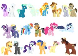 Size: 2324x1680 | Tagged: alicorn, applejack, artist:xxwerecatdipperxx, braeburn, derpy hooves, doctorderpy, doctor whooves, double diamond, female, flash sentry, fluttershy, glimmerdiamond, male, pinkie pie, quibbledash, quibble pants, rainbow dash, rarity, safe, sentrity, shipping, sky stinger, soarin', soarinpie, spitburn, spitfire, starlight glimmer, star tracker, straight, thunderjack, thunderlane, time turner, troubleshoes clyde, troubleshy, twilight sparkle, twilight sparkle (alicorn), twitracker, vaporsky, vapor trail