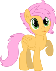 Size: 4509x5729   Tagged: safe, artist:cyanlightning, oc, oc only, oc:beauty cheat, pegasus, pony, 2019 community collab, derpibooru community collaboration, .svg available, absurd resolution, chest fluff, ear fluff, female, mare, raised hoof, simple background, solo, tongue out, transparent background, vector