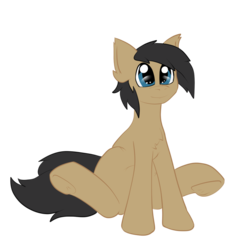 Size: 1033x1036 | Tagged: artist:deusexkittycoon, earth pony, oc, oc:cogs fixmore, oc only, pony, safe, simple background, solo, transparent background