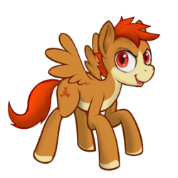 Size: 1200x1200 | Tagged: 2019 community collab, artist:darkdoomer, derpibooru community collaboration, derpibooru exclusive, male, oc, oc only, oc:patachu, pegasus, pony, safe, simple background, solo, transparent background