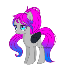 Size: 551x547 | Tagged: artist:fioweress, colored wings, female, magical lesbian spawn, mare, oc, oc:velena, parents:oc x oc, pegasus, pony, safe, simple background, solo, transparent background