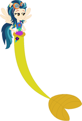 Size: 604x888 | Tagged: artist:firestarartist, artist:selenaede, artist:user15432, base used, clothes, crystal prep shadowbolts, ear piercing, earring, equestria girls, fins, hasbro, hasbro studios, indigo zap, jewelry, mermaid, mermaidized, mermaid tail, pegasus wings, piercing, ponied up, pony ears, safe, species swap, winged humanization, wings