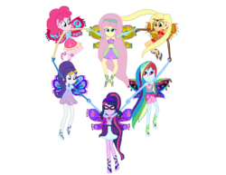 Size: 3072x2371 | Tagged: alicorn, alternate hairstyle, alternate universe, applejack, artist:gouhlsrule, artist:user15432, clothes, colored wings, crossover, enchantix, equestria girls, fairy, fairy wings, fluttershy, glasses, gloves, hairstyle, hasbro, hasbro studios, heart, human, humanized, jewelry, long gloves, mane six, multicolored wings, necklace, orange wings, pinkie pie, pink wings, purple wings, rainbow dash, rainbow s.r.l, rainbow wings, rarity, safe, sci-twi, twilight sparkle, twilight sparkle (alicorn), winged humanization, wings, winx club, yellow wings