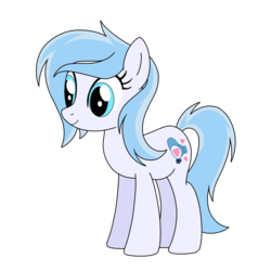 Size: 1000x1000 | Tagged: artist:linedraweer, oc, oc:lucky duck, oc only, pony, safe, solo, vector