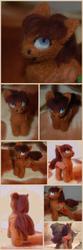 Size: 2000x6000   Tagged: safe, artist:fynjy-87, oc, oc only, oc:lunette, pony, felting, needle felted, plushie