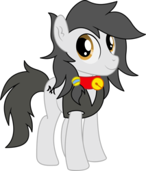 Size: 4189x4910 | Tagged: safe, artist:cyanlightning, oc, oc only, oc:double m, earth pony, pony, 2019 community collab, derpibooru community collaboration, .svg available, absurd resolution, chest fluff, ear fluff, male, simple background, solo, stallion, transparent background, vector