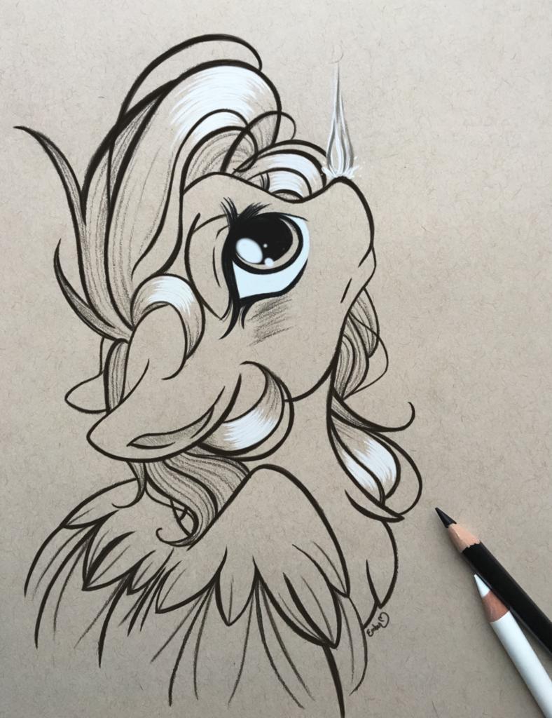 1900976 artistemberslament blushing colored pencil drawing