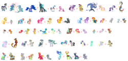 Size: 7952x3816 | Tagged: safe, artist:littlebizzle, artist:selenaede, apple bloom, applejack, babs seed, barley grind, big macintosh, bon bon, button mash, capper dapperpaws, chipcutter, derpy hooves, diamond tiara, discord, dj pon-3, doctor whooves, feather bangs, flash magnus, fluttershy, gallus, iron will, king sombra, limestone pie, lyra heartstrings, marble pie, maud pie, meadowbrook, mistmane, mudbriar, ocellus, octavia melody, pharynx, pinkie pie, pipsqueak, princess cadance, princess celestia, princess ember, princess luna, queen chrysalis, rainbow dash, rarity, rockhoof, sandbar, scootaloo, shining armor, silver spoon, silverstream, smolder, snails, snips, somnambula, spike, star swirl the bearded, starlight glimmer, sunburst, sunset shimmer, sweetie belle, sweetie drops, thorax, thunderlane, time turner, tree hugger, trixie, twilight sparkle, twist, vinyl scratch, yona, zecora, alicorn, changedling, changeling, classical hippogriff, dragon, griffon, hippogriff, pony, my little pony: the movie, applespike, background pony, base used, bisexual, bow, celestibra, changedling brothers, chrysaluna, crack shipping, cutie mark crusaders, diamondbloom, doctorderpy, embrax, female, gallbar, gallbarderllus, gay, good king sombra, hair bow, heart, ironshy, king thorax, lesbian, lunalisarmordence, luslus, lyrabon, magnambula, male, mane seven, mane six, marblemac, maudbriar, ocelbar, ot3, ot4, pinkiebangs, pipseed, polyamory, prince pharynx, raricord, rockbrook, scootacutter, scratchtavia, shiningcadance, shipping, simple background, smolcellus, smollus, snailstwist, starburst, startrix, startrixburst, stock vector, straight, student six, sunsetlane, sweetiemash, too many tags, twignus, twilight sparkle (alicorn), wall of tags, white background, winged spike