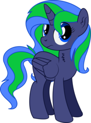 Size: 3510x4707   Tagged: safe, artist:cyanlightning, oc, oc only, oc:star gazer, alicorn, pony, 2019 community collab, derpibooru community collaboration, .svg available, absurd resolution, alicorn oc, chest fluff, ear fluff, female, folded wings, mare, simple background, solo, transparent background, vector, wings