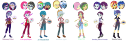 Size: 1280x423 | Tagged: safe, artist:superrosey16, applejack, carlos thunderbolt, clayton potter, flash sentry, fluttershy, indigo wreath, larry cooper, neon lights, pinkie pie, pokey pierce, rainbow dash, rarity, rising star, sandalwood, sci-twi, sunset shimmer, twilight sparkle, a fine line, best trends forever, equestria girls, equestria girls (movie), equestria girls series, friendship games, overpowered (equestria girls), pinkie spy (short), text support, clothes, crystal prep academy uniform, female, flashimmer, geode of empathy, geode of fauna, geode of shielding, geode of sugar bombs, geode of super speed, geode of super strength, geode of telekinesis, glasses, magical geodes, male, next generation, obtrusive watermark, offspring, parent:applejack, parent:clayton potter, parent:flash sentry, parent:fluttershy, parent:indigo wreath, parent:neon lights, parent:pinkie pie, parent:pokey pierce, parent:rainbow dash, parent:rarity, parent:sandalwood, parent:sci-twi, parent:sunset shimmer, parents:claytwi, parents:dashbolt, parents:flashimmer, parents:neonpie, parents:pokeyjack, parents:rariwreath, parents:sandalshy, sandalshy, school uniform, shipping, straight, watermark