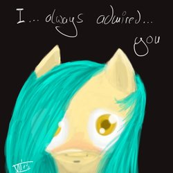 Size: 894x894   Tagged: safe, artist:thatseven, oc, oc:melony love, pony, fallout equestria, fallout equestria: broken bonds, fanfic art