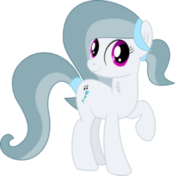 Size: 4932x4974   Tagged: safe, artist:cyanlightning, oc, oc only, oc:silver bell, earth pony, pony, 2019 community collab, derpibooru community collaboration, .svg available, absurd resolution, chest fluff, ear fluff, female, mare, simple background, solo, transparent background, vector