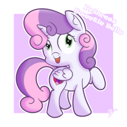 Size: 1280x1280 | Tagged: alicorn, alicornified, artist:vaetan, race swap, safe, solo, sweetie belle, sweetiecorn, xk-class end-of-the-world scenario