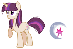 Size: 1418x953 | Tagged: safe, artist:thepegasisterpony, oc, oc only, oc:nebula sparkle, unicorn, base used, female, magical lesbian spawn, mare, offspring, parent:moondancer, parent:twilight sparkle, parents:twidancer, simple background, solo, transparent background