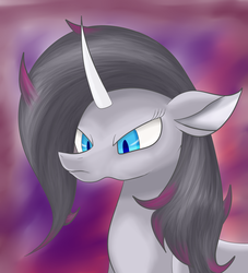 Size: 2000x2200   Tagged: safe, artist:huffy26, oleander, classical unicorn, unicorn, them's fightin' herds, bust, community related, female, portrait, solo