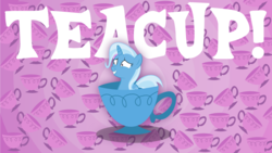 Size: 3842x2160 | Tagged: artist:perplexedpegasus, cup, safe, teacup, trixie, wallpaper
