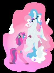 Size: 1600x2177 | Tagged: safe, artist:goatpaste, skywishes, star catcher, pony, female, g3, lesbian, shipping, simple background, skycatcher, transparent background