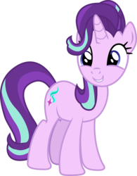 Size: 3892x5000 | Tagged: safe, artist:paganmuffin, starlight glimmer, pony, unicorn, school daze, absurd resolution, cute, female, friendship always wins, glimmerbetes, mare, simple background, solo, teacher, transparent background, vector