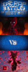 Size: 408x1022 | Tagged: safe, tempest shadow, my little pony: the movie, crossover, epic rap battles of history, infinite (character), lyrics in the comments, sonic forces, sonic the hedgehog (series), why