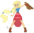 Size: 2048x1960 | Tagged: safe, artist:ilaria122, applejack, equestria girls, equestria girls series, forgotten friendship, alternate hairstyle, ankle boots, clothes, cowboy hat, dress, female, freckles, hat, ponied up, simple background, solo, stetson, transparent background