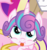 Size: 334x353 | Tagged: blep, cropped, once upon a zeppelin, pony, princess flurry heart, safe, screencap, silly, silly pony, spoiler:s07e22, tongue out