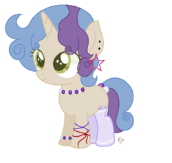 Size: 601x567 | Tagged: artist:themisslittledevil, base used, clothes, ear piercing, earring, female, filly, jewelry, oc, oc:crystal bright, piercing, pony, safe, simple background, socks, solo, transparent background, unicorn