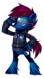 Size: 1600x2840 | Tagged: artist:centchi, bipedal, clothes, earth pony, hoodie, male, oc, oc:t-minus ten, pony, safe, simple background, solo, stallion, sunglasses, transparent background, unshorn fetlocks