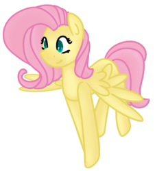 Size: 1063x1176 | Tagged: artist:azure-quill, fluttershy, pony, safe, simple background, solo, transparent background