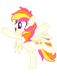 Size: 2048x2732 | Tagged: safe, artist:prismaticstars, oc, oc:sunkist, pegasus, pony, female, high res, mare, simple background, solo, transparent background