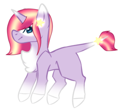 Size: 1024x936 | Tagged: safe, artist:okimichan, oc, pony, unicorn, base used, chest fluff, female, leonine tail, mare, simple background, solo, transparent background