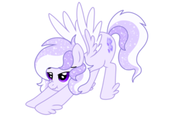 Size: 2732x2048 | Tagged: artist:prismaticstars, colored wings, female, high res, iwtcird, mare, meme, multicolored wings, oc, oc only, oc:starstorm slumber, pegasus, pony, safe, scrunchy face, simple background, solo, transparent background, vector