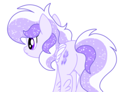 Size: 2732x2048 | Tagged: safe, artist:prismaticstars, oc, oc only, oc:starstorm slumber, pegasus, pony, colored wings, ethereal mane, female, high res, mare, multicolored wings, plot, simple background, solo, starry mane, transparent background, vector