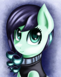 Size: 1636x2056 | Tagged: safe, artist:qbellas, coloratura, earth pony, pony, bust, female, mare, rara