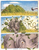 Size: 1072x1392 | Tagged: safe, artist:thefriendlyelephant, oc, oc only, oc:grumpy the rhino, black rhinoceros, pony, rhinoceros, comic:sable story, africa, angry, barely pony related, bash, bush, charge, comic, leaves, perspective, savanna, scar, tail, territorial, traditional art