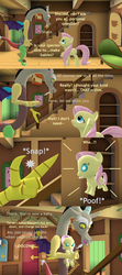 Size: 1920x4320   Tagged: safe, artist:red4567, discord, fluttershy, pony, 3d, age regression, baby, baby pony, baby talk, babyshy, comic, hoofy-kicks, snap, source filmmaker, the birds and the bees, the talk