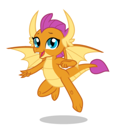Size: 1500x1600   Tagged: artist needed, source needed, safe, smolder, dragon, official, school daze, cute, dragoness, female, flying, simple background, smolderbetes, solo, transparent background, vector, wings